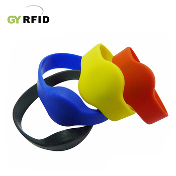 Silicone wristband for gym/ activity ( GYRFID )