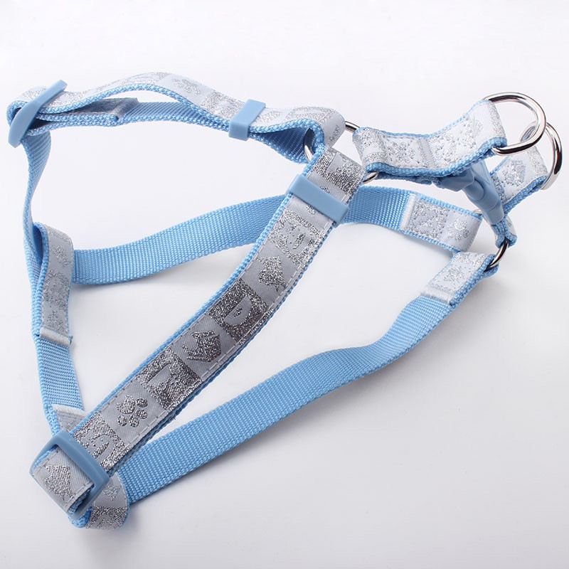 Factory Price High Quality Nylon with Woven Label Pet Harness OEM Service