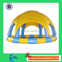 inflatable swimming pool cover tent inflatable pool tents for sale