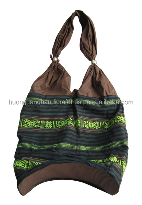 Vietnamese traditional bags, brocade bags from ethnic cloth