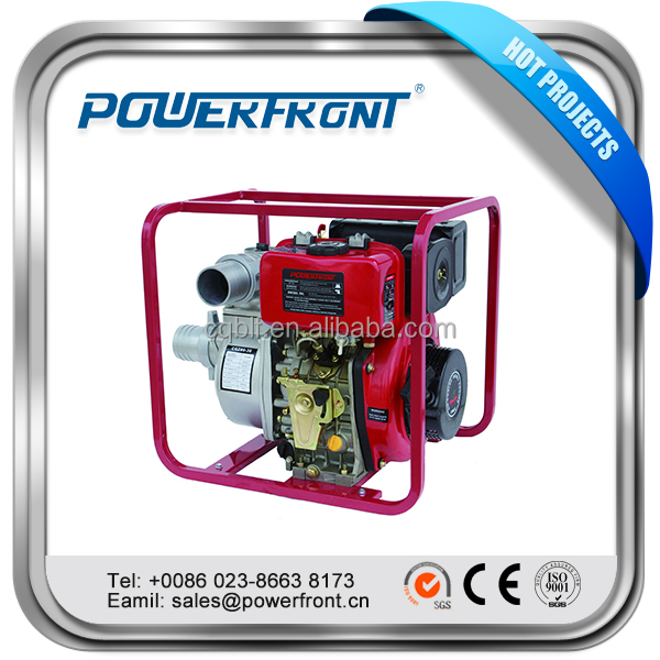 PFCGZ80-30 good quality ohv single cylinder 80mm 3 inch portable mini diesel water pump