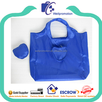 wellpromotion cheap custom collapsible reusable folding shopping bags