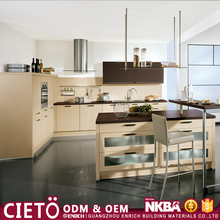 tiles and building material of modern kitchen cabinet with germany kitchen faucets