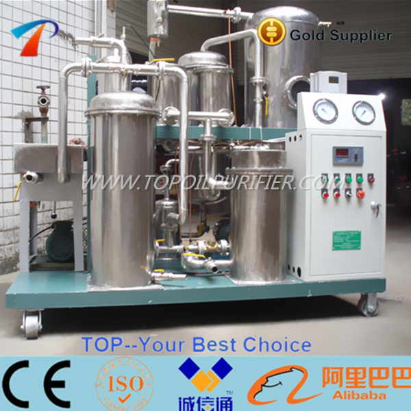 Food grade material,high performance cooking oil vacuum filtration managing system