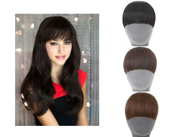 Marvelous ... Bang Fringe False Hair Bangs Black Light Brown Dark Brown Clip In On  Bangs Synthetic Hair Fringe Free Shipping LH036 In Cheap Price On M .alibaba.com Gallery