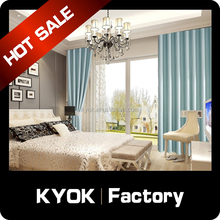 KYOK Polyester Flower Design Printing Blackout curtain ,Fabric Window Curtain