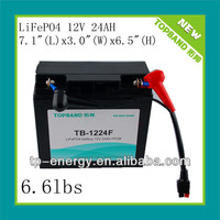 Hot!!!12v 24AH LiFePO4 Battery Pack with PCM for electric vehicles,mower,solar products,small e-tools