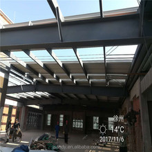 China Prefab Galvanized H Beam Steel Structure Building Steel Roof Frame Warehouse Workshop Plant