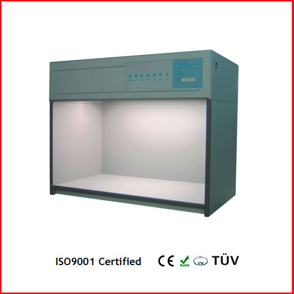 Color matching light bulbs, d65, tl84 UV, F, TL83, CWF p120 Leather shoes color assessment cabinet color check light box
