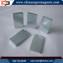 High performance Customized Industrial block shape n35 neodymium magnet