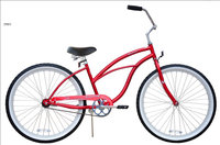 "26"" women black beach cruiser/beach cruiser bike/beach cruiser bicycle"