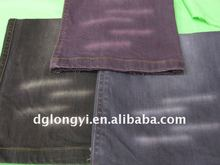 2012 hot sale cotton color stretch denim fabric