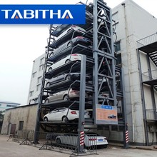 Automated Mini Smart Vertical Rotary Car Parking System