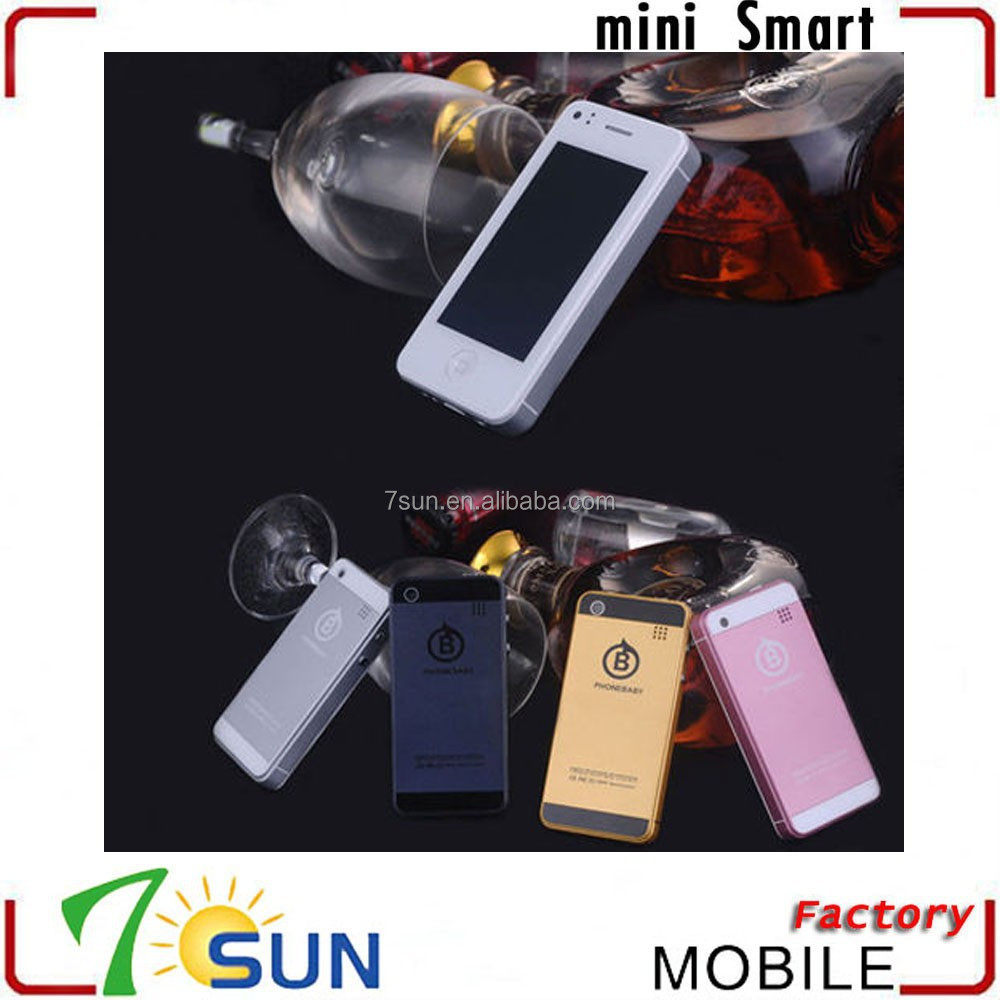 2014 new products Unlocked mini smart phone Dual SIM cards Dual Core Android 4.0 mobile Phone android smartphone