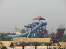 Double person wave swing slides