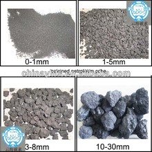 Low N & medium sulfur(0.7%) Calcined Petroleum Coke,CPC