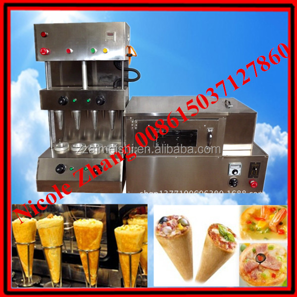 Pizza cone machine/ Pizza cone equipment/ Pizza cone making <strong>line</strong> 008615037127860