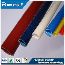 Competitive price fiberglass braided sleeving coated with silicone rubber