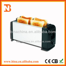 BN-T1006 custom logo toaster/2 Slice Grilled Electric Bread Toaster/bread toaster machine
