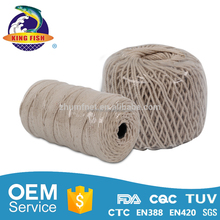 Famous brand hot-sale 100% color twisted cotton twine and rope
