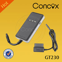 Stable GPS Vehicle Tracker Fleet Management Acceleration Sensor OBD Concox GT230 Remote Diagnosis System