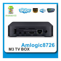 3D 1080p smart 4.0 Android&Linux TV Box with 1.4 HDMI