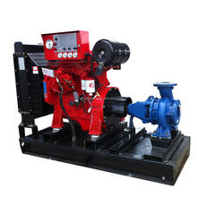 Air cooled diesel water pump