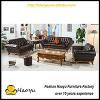 elegant high grade leather turkish sofa furniture