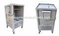powder coating booth used system
