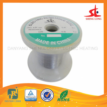 China pure metal made high purity nicr 80 20 flat vaping <strong>wire</strong> 22g 24g 26g 28g 36g Ni80 Nichrome <strong>wire</strong>
