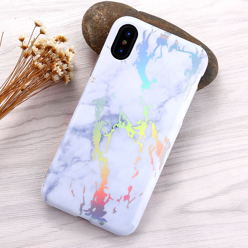 Hign Quality Free Sample Beautiful Smart Phone Accessories Laser Phone Case IMD case for iPhone X