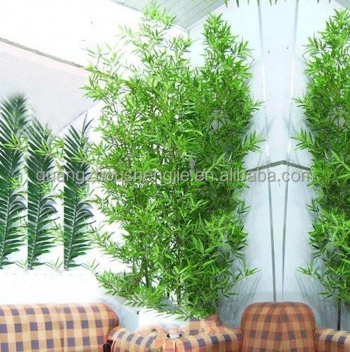 q121201 ext rieure artificielle bambou cl ture jardin d coration vert bambou arbres artificiels. Black Bedroom Furniture Sets. Home Design Ideas