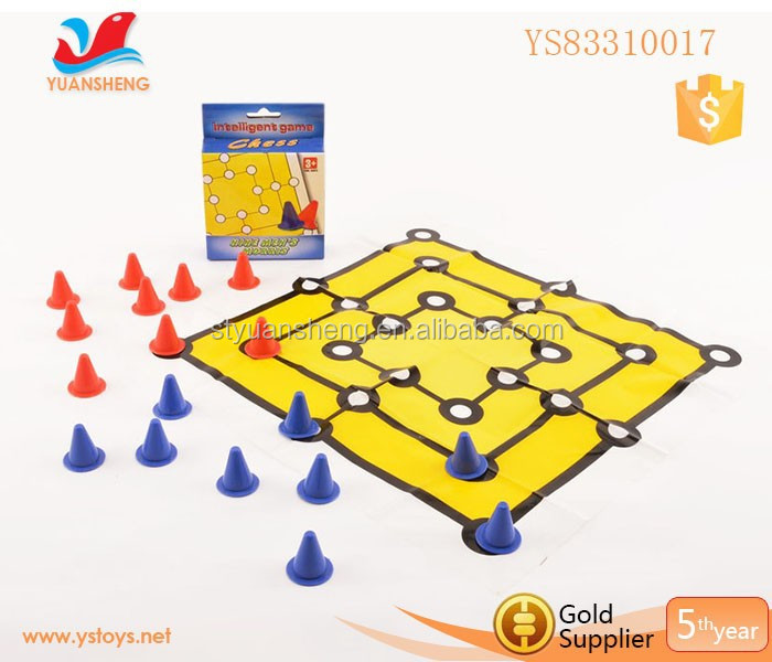 Children Intellectual Board Game For Play Chess With Big Mat Ludo Board Game