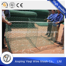 2016 gabion wire mesh / hexagonal gabion mesh / gabion box from Anping Yaqi wire mesh company