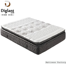 Home Furniture Simple Sleep Dream Single Double Roll Up Sponge Pocket Spring Pillow Top Smart Mattress
