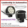 2014 NSSC NEW 35w led work light for suv IP68, passed frozen testing, best price 7*5W cree led