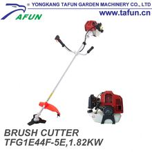 Agricultural garden tools portable manual gas metal blade 52cc gasoline brush cutter with brush cutter blade