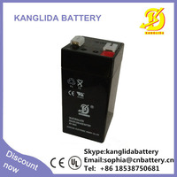 4v 3ah Rechargeable Lead Acid Battery