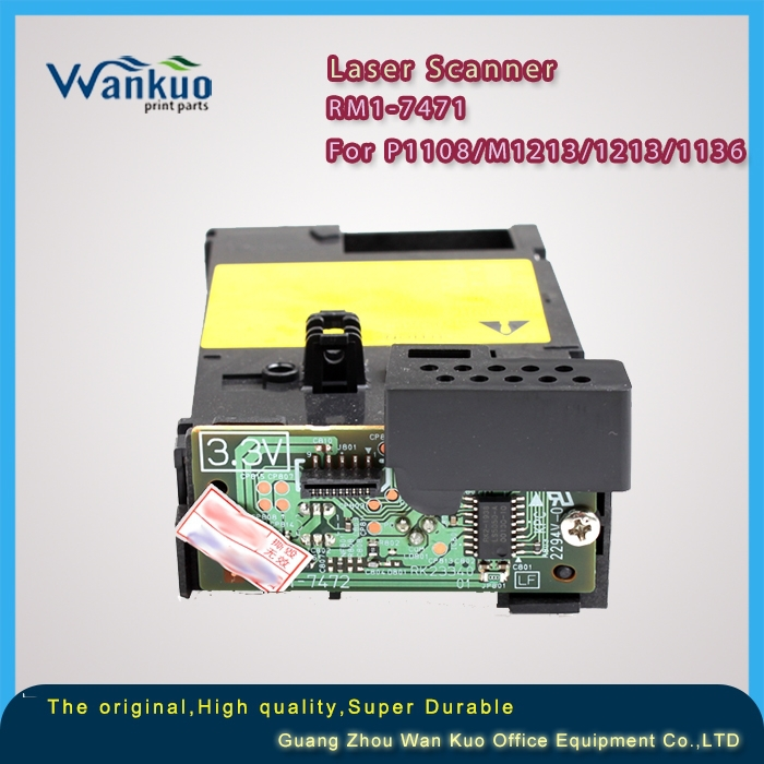 Laser scan hear/Printer parts/Printer accessories RM1-7471 for HP laserjet P1108/M1213/M1136