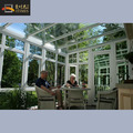 aluminum prefabricated sunroom pergola