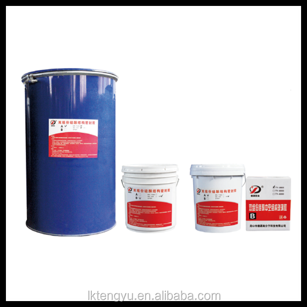 Excellent adhesion Two component silicone sealant for insulating glass