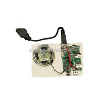 Cheap usb mp3 sound module for card or cake box