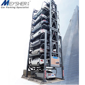 Save electricity carousel vertical mechanical smart parking system automated rotary parking lift