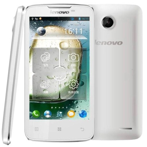 Lenovo A820 4GB 4.5 inch 3G Android 4.1.2 Smart Phone, MTK6589 1.2GHz Quad Core, RAM: 1GB, WCDMA & GSM, Dual SIM(White)
