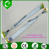 Custom lvds cable winnie p/n 1422-014w000 for laptop backlight