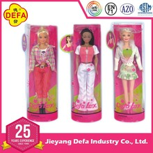 ICTI FACTORY Defa Lucy New Products PVC fashion Indian African Barbiee doll with EN71/ASTM/AZO FREE CERTIFICATIONS