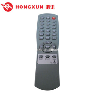 China TV provider HX-T08 wireless dvd player tv remote control