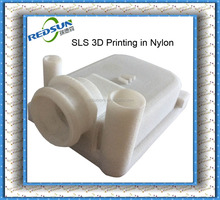 Natural-color and transparent and clear finishing SLS SLA 3d model printing
