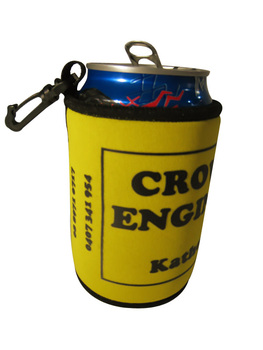 Can Cooler with Carabiner and Magnet