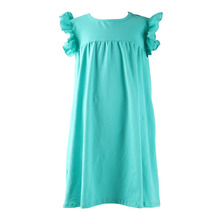 children casual style kids beach dresses baby girl summer dress for baby clothes